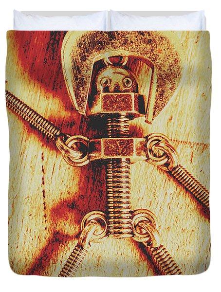 Mechanical Nut  Duvet Cover