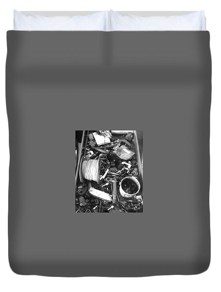 Mechanics Bane Duvet Cover