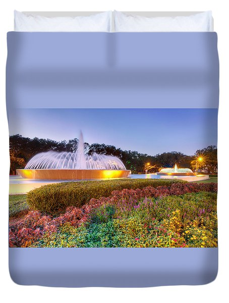 Mecom Fountain Duvet Cover