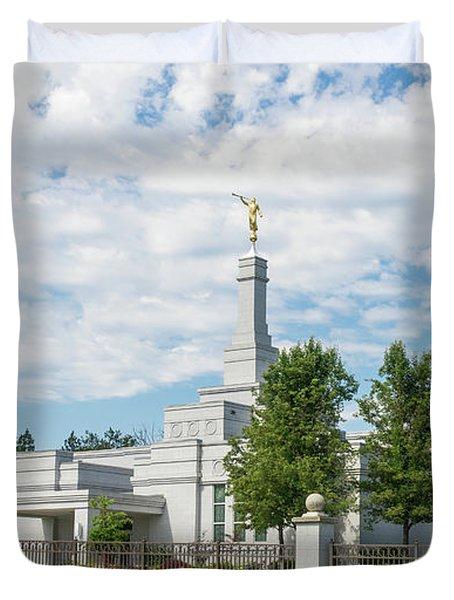 Medford Temple Duvet Cover