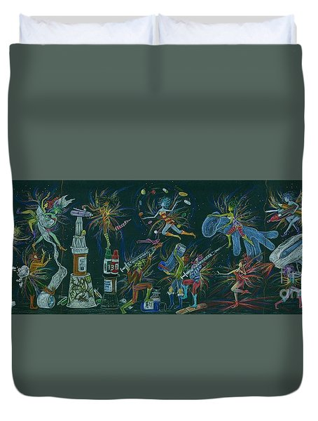 Medication Room Fairies Duvet Cover