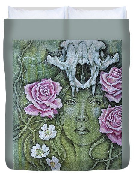 Medicinae Duvet Cover by Sheri Howe