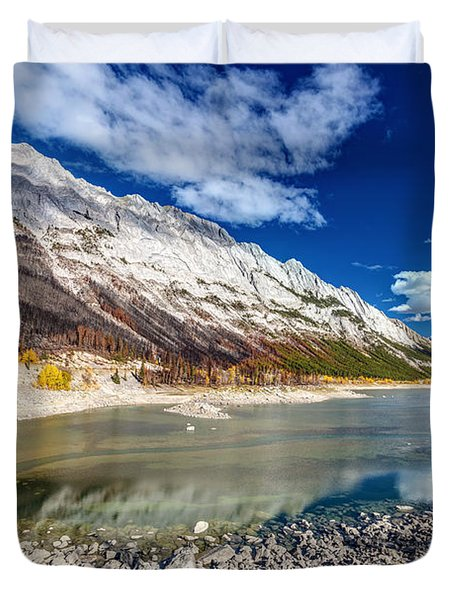 Medicine Lake Jasper Duvet Cover