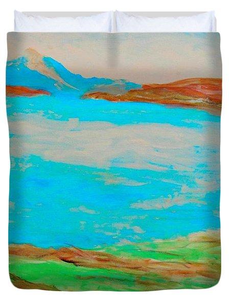 Medicine Lake Duvet Cover