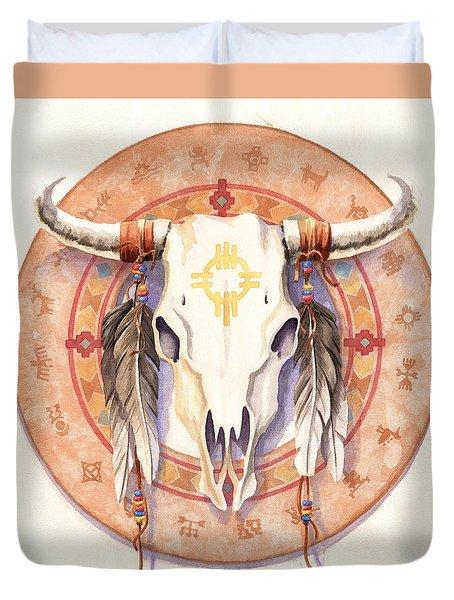 Medicine Wheel Duvet Cover