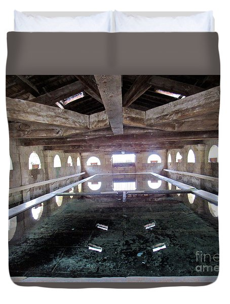 Medieval Bath House Duvet Cover