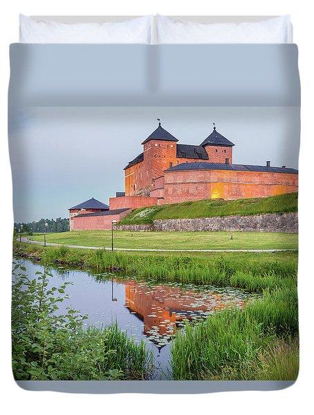 Medieval Castle Duvet Cover by Teemu Tretjakov