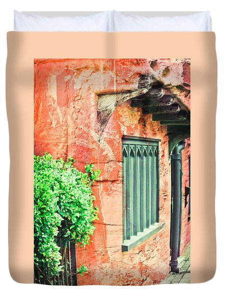 Medieval Cottage Duvet Cover