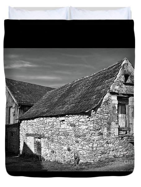 Medieval Country House Sound Duvet Cover