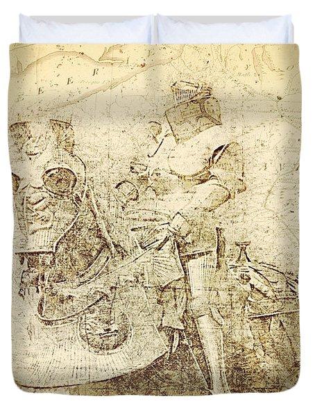 Medieval Europe Duvet Cover