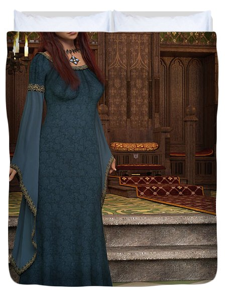 Medieval Queen Duvet Cover