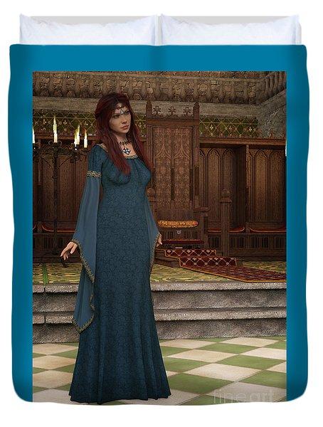 Medieval Queen Duvet Cover
