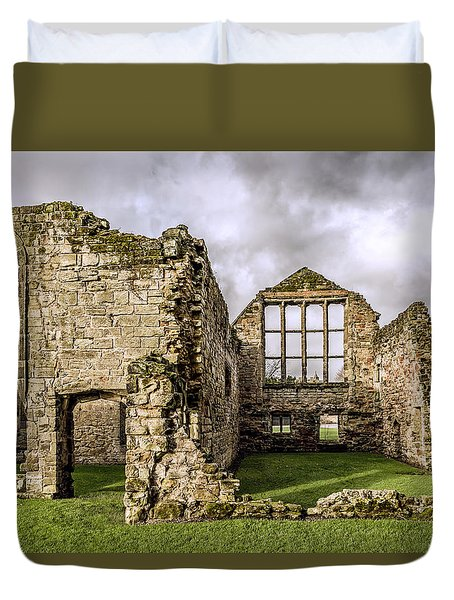 Medieval Ruins Duvet Cover