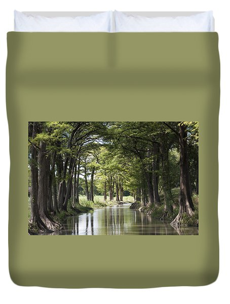 Medina River Duvet Cover