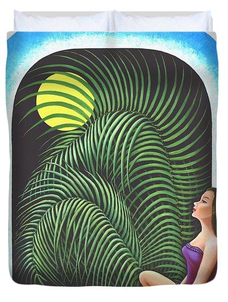 Meditation Duvet Cover by Belle Perez-de-Tagle