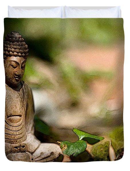 Meditation Duvet Cover