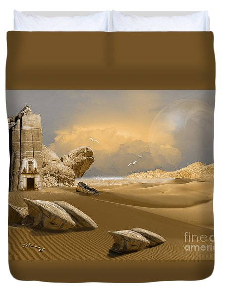 Meditation Place Duvet Cover