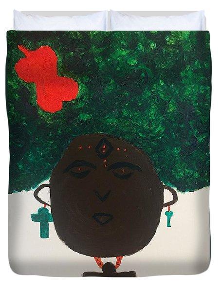 Meditation Queen  Duvet Cover