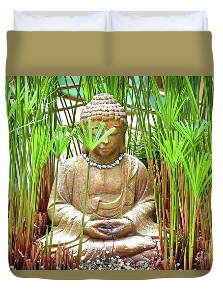 Meditation Duvet Cover by Ray Shrewsberry