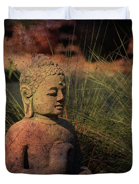 Meditation Duvet Cover by Susanne Van Hulst