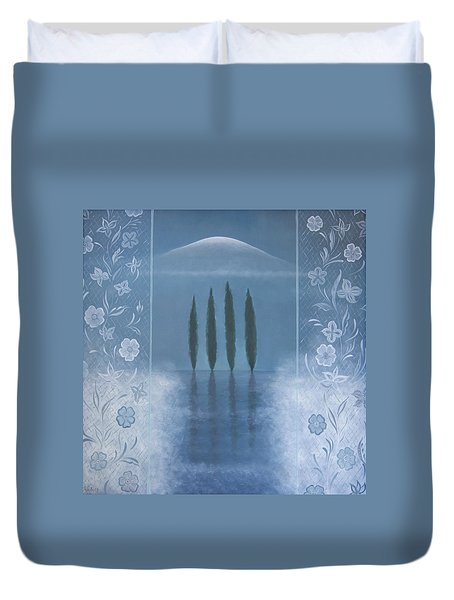 Meditation Duvet Cover by Tone Aanderaa