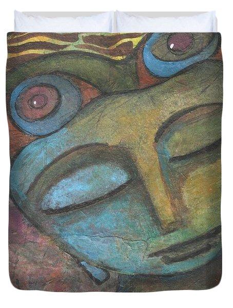 Meditative Awareness Duvet Cover