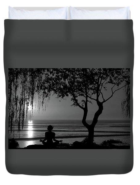 Meditative State Duvet Cover