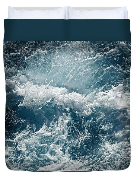 Mediterranean Sea Art 53 Duvet Cover