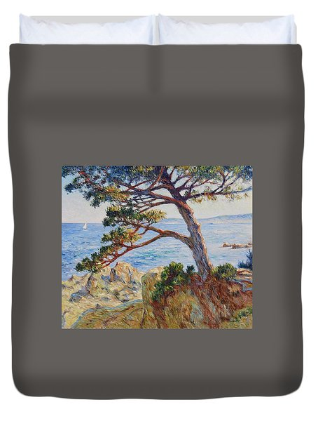 Mediterranean Sea Duvet Cover