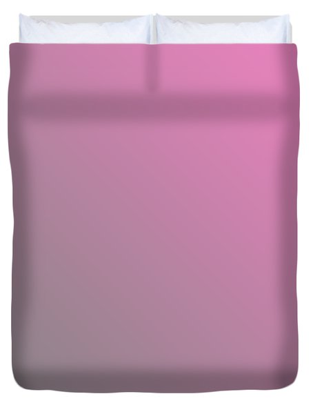 Medium Gray Diagonal Ombre Duvet Cover