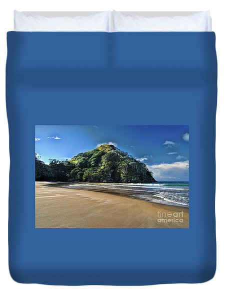 Medlands Beach Duvet Cover