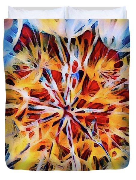 Medow Dandelion Duvet Cover