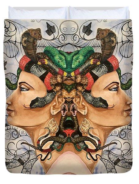 Medusa 4 Duvet Cover