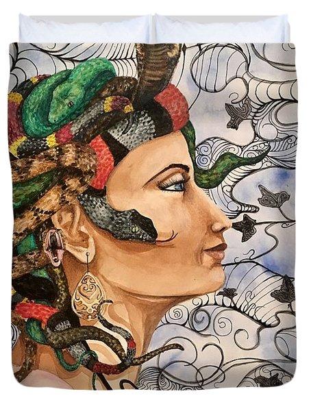 Medusa Duvet Cover