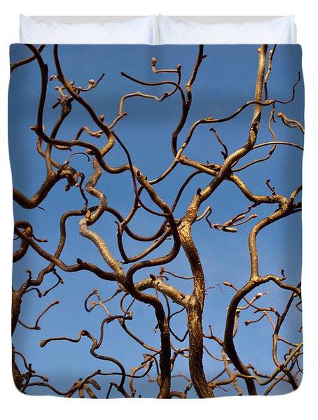 Medusa Limbs Reaching For The Sky Duvet Cover
