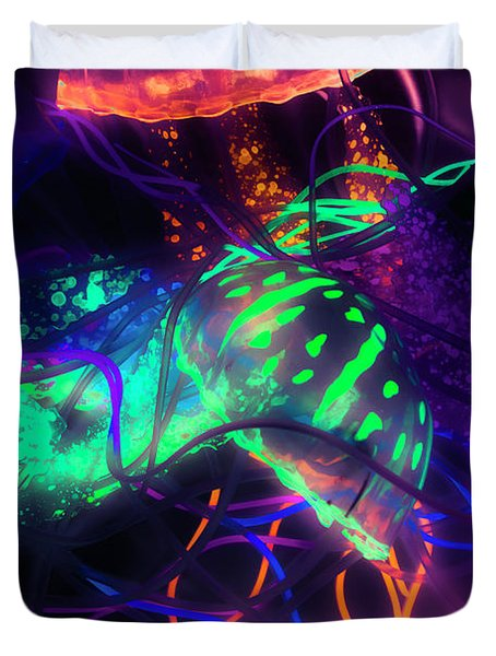 Medusarizing Duvet Cover