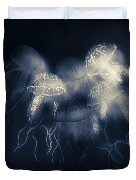 Medusas Light Duvet Cover
