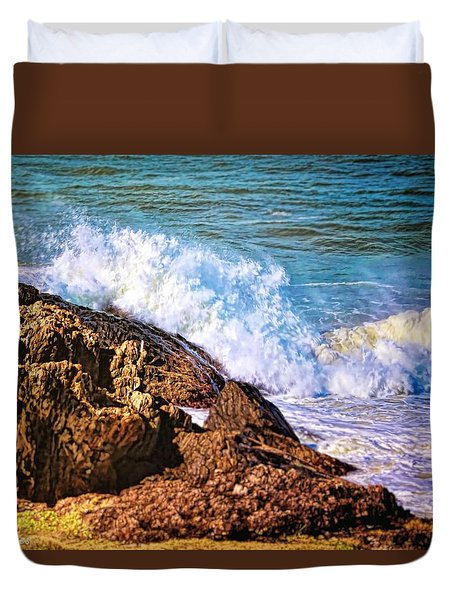 Meeting Place Duvet Cover by Wallaroo Images
