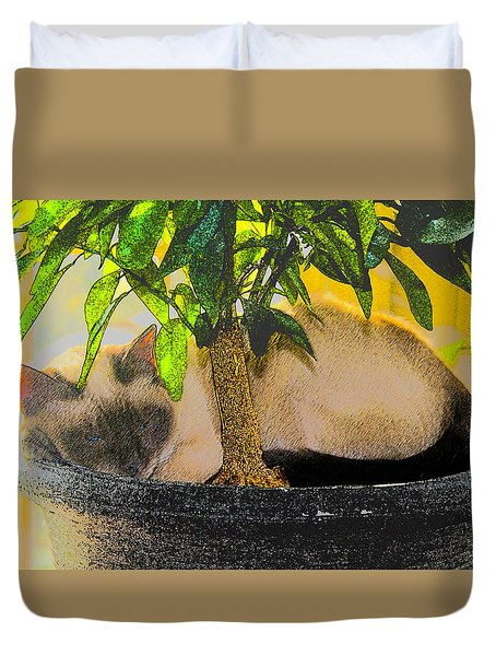 Meezer Tree Duvet Cover