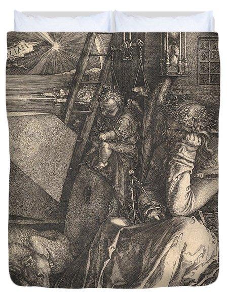 Melencolia I, 1514  Duvet Cover