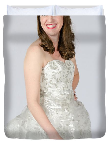 Melisa Hart In Ready To Ship Duvet Cover
