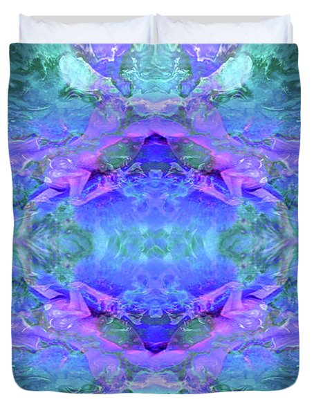Mellifluous Mermaids Duvet Cover by Tlynn Brentnall
