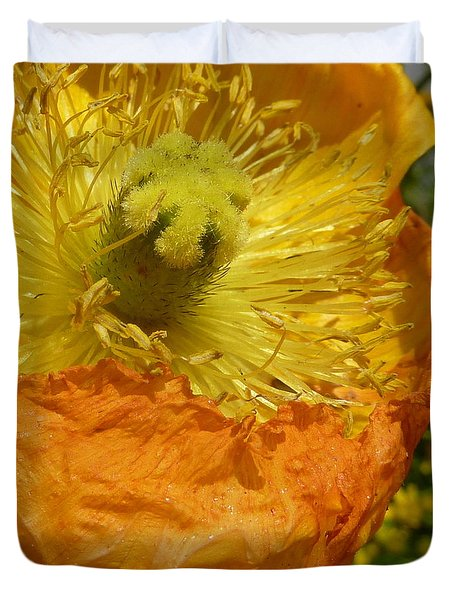 Mellow Yellow - Signed Duvet Cover