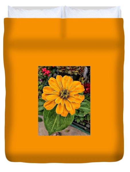 Mellow Yellow You Duvet Cover