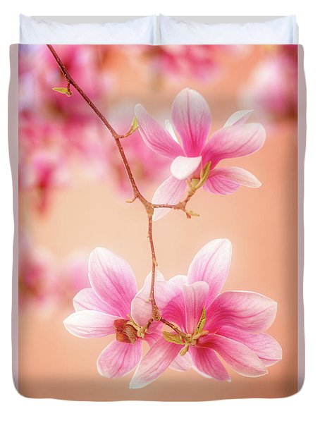 Melodies Of Spring  Duvet Cover