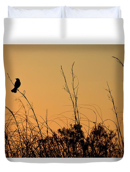 Melody At Dusk Duvet Cover