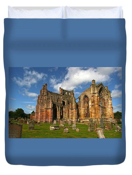 Melrose Abbey Duvet Cover