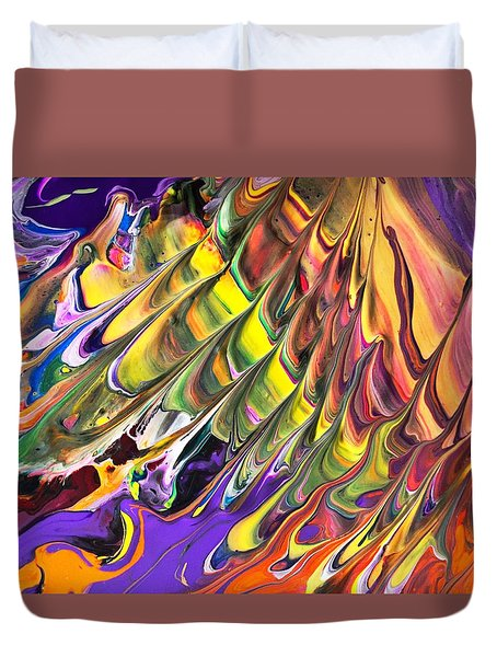 Melted Swirl Duvet Cover