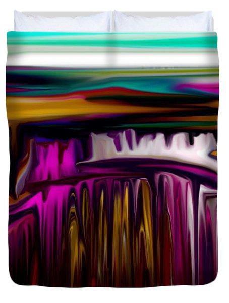 Melting Duvet Cover by David Lane