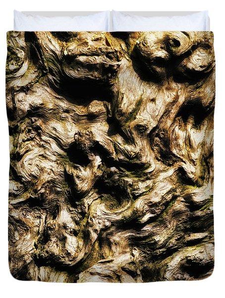 Melting Wood Duvet Cover by Wim Lanclus